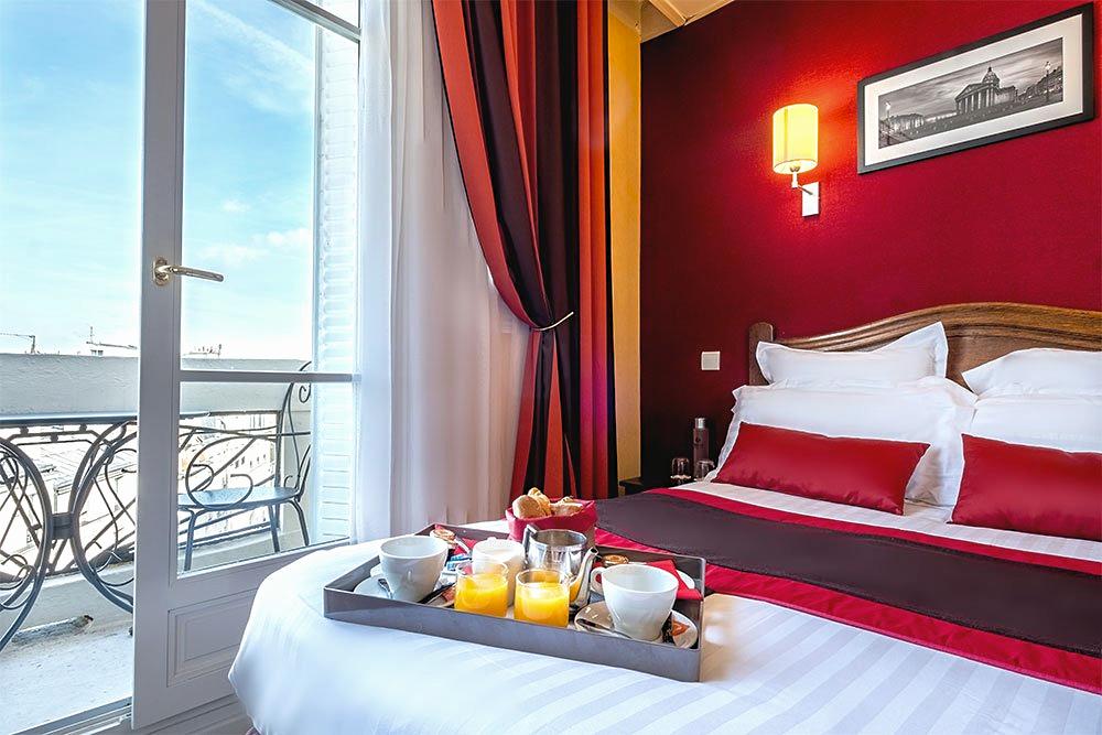 Hôtel Trianon Rive Gauche, belle vue et petit-déjeuner